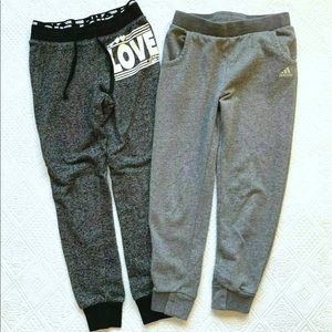 Girls Joggers Lot 10 12 Adidas Chance Of Fate Pant